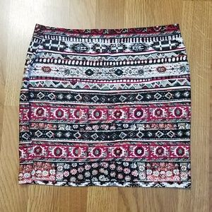 Hot Kiss Skirts - 2 bodycon skirts colorful mini skirts